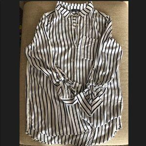 Button up  striped shirt